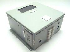 Hoffman A1212chspl Industrial Control Panel Enclosure Cutout Box 12x12x6 Window