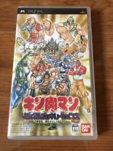 PSP Kinnikuman Muscle Generations PlayStation Portable Japan Import Game
