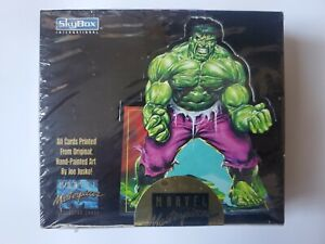 1992 Marvel Masterpieces Factory Sealed Box - 1st Series Gorgeous Box