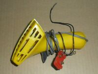 Scalextric vintage yellow car controller with under track fitting. SUPERB Spares
