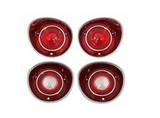 USA-Made! 1971 Malibu & SS Tail Light / Back Up Light Lens Set NEW Trim Parts!