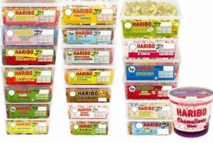 HARIBO SWEETS---1 FULL TUB---SHORTDATED -BARGAINS-- TO CLEAR--FREE DELIVERY