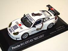 """Porsche 911 gt3 rs 996 """"recaro/com for car"""" - Minichamps 1:43 - le 999 pc."""