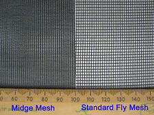 Flyscreen Flywire Sandfly Midge Mesh 1520mm X 30m Full Roll Post