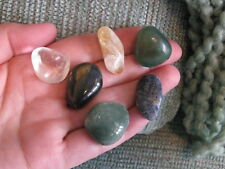 NEW VIRGO ZODIAC ASTROLOGY NATURAL GEMSTONE SET OF 6 STONES--RELIABLE