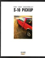 1997 97 Chevy S10 Pickup original sales  brochure MINT