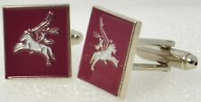 British Pegasus Cufflinks - WW2 Style Military Army 1st 6th Airborne Divisions