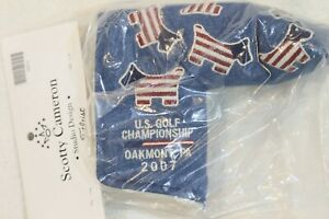 Scotty Cameron Headcover, NIB 2007 US Open Denim Headcover (Oakmont)