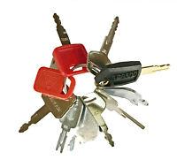 Keyman 10 Key Heavy Construction Equipment Ignition Keys Set Great Starter Set