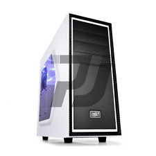 CASE ATX GAMING DEEPCOOL TESSERACT USB 2.0/3.0 CON 2 VENTOLE WHITE