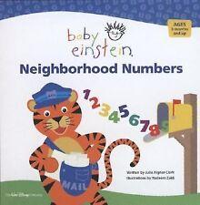 Baby Einstein: Neighborhood Numbers Aigner-Clark, Julie Board book