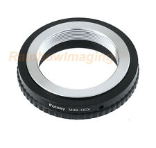 39mm M39 L39 Lens to Sony E-Mount NEX-3 NEX-5 NEX-7 NEX-5C NEX-C3 Adapter