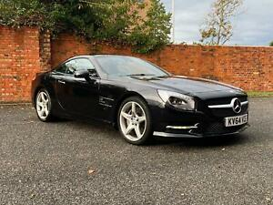 2014/64 Mercedes-Benz SL 500 4.7 V8 27000 Miles FMBSH Panoramic Roof,Airscarf