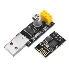 Esp01 Programmer Adapter Uart Gpio0 Esp-01 Ch340G Usb to Esp8266 Serial Wireless