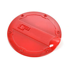 For Ford F150 2015-2018 Gas Door Cover Fuel Tank Oil Cap Decoration Trim ABS Red