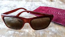 New listing Vintage Vaurnet Sunglasses Paris France Pouilloux Skilynx Acier w/Case Brown