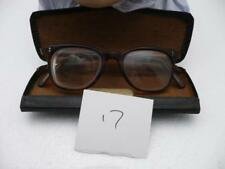 Vintage nhs Faux tortoiseshe framed Prescription glasses with case       (no 17)