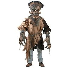 Frankenstein Costume Adult Scary Monster Creature Reacher Halloween Fancy Dress