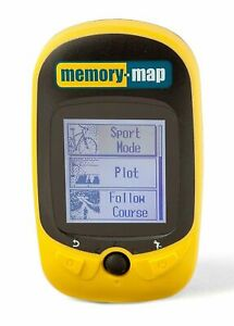 Memory Map 270 Bike Cyclist Running GPS Tracker, Waterproof, Rugged, Lightweight