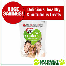 Love em Cookies Lamb And Mint Treats For Dogs 450gm