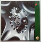 V15318 MG 'F' - CATALOGUE - 1998 - 27x27 - IT
