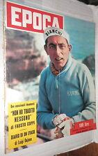 EPOCA 14 Novembre 1954 Fausto Coppi Dejana Matisse Jovanovich Vishniac Lindbergh