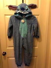 NWT DISNEY STORE LILO & STITCH PLUSH COSTUME PAJAMA Size 5/6 Halloween