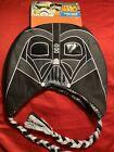 Star Wars Darth Vader Laplander Hat 8+ Black And Silver Brand New Never Worn