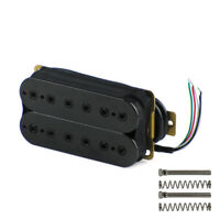 NEW One Black Double Coil Humbucker Pickup Bridge Pickup for Electric Guitar