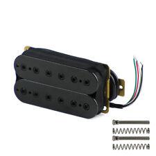 NEW 1PCS Black Double Coil Humbucker Pickup Bridge Pickup for Electric Guitar