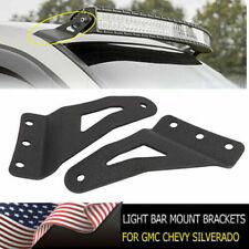 54 Inch Curved LED Light Bar Mounting Brackets For GMC Sierra Chevy Silverado