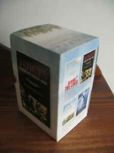 BOX SET 4 BOOKS - VOICES FREOM THE GREAT WAR - COLLECTION OF STORIES TO HONOUR