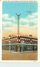 Texas, TX, San Antonio, Buckhorn Curio Store 1941 Postcard