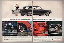 Mercury Monterey 2-Page PRINT AD - 1962 ~~ 1963 model