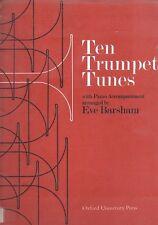 Ten Trumpet Tunes with Piano Accompaniment #BN12668