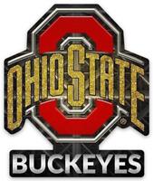 O.S.U. Ohio State University Logo Gold Metallic Magnet