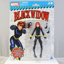 Marvel Superheroes Vintage Retro Black Widow Action Figure