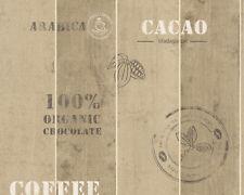 EUR 2,53/qm / Küchen-Tapete A.S. Creation 8845-10 / Holz Kaffee / Cafe / Coffee