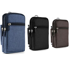 Cell Phone Pouch Wallet Belt Clip Holster Case Bag for iPhone 12 Pro Max/ 12 Pro