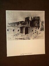 Risorgimento in Italia Roma nel 1849 Villa Borghese e Ponte Milvio interrotto