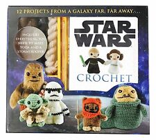 1X Lucy Collin Star Wars Themed Crochet Set Yoda & Stormtrooper + More Patterns