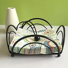 New Napkin Holder Basket Fashion Metal Guest Towel Caddy Desktop Tissue Paper