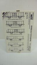 M+D H0 Sonderserie 03 SS03 6 x off. Güterwagen der DB EP III in OVP (RB2398)