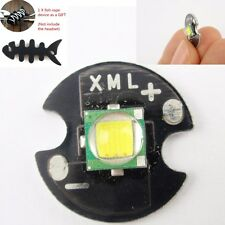 DIY White Cree XM-L Single-Die Chip16mm Round Base for T6 LED 10W + Gift