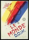 """James Rosenquist, """"Le Monde D.O.W."""" - Hand Signed/Limited Edition Lithograph"""