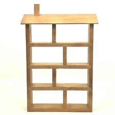 Wooden Trinket Display Box Shelf Wall Mount Multi Shelves