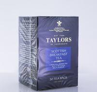 Taylors of Harrogate - Scottish Breakfast Tea - 50 Tea Bags