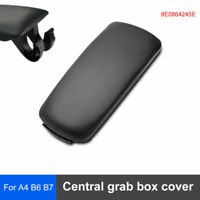 Fit for Audi A4 B6/7 Car Armrest Center Console Lid Cover Black 8E0864245E 02·07