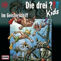 DIE DREI ??? KIDS - 030/IM GEISTERSCHIFF  CD  KINDERHÖRSPIEL  NEU