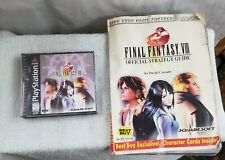 Final Fantasy VIII (Sony PlayStation 1, 2000)  includes Strategy Guide